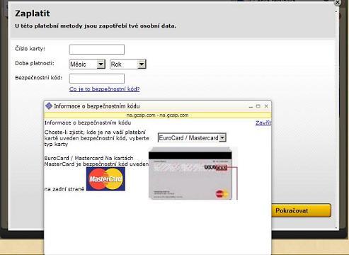 kreditní karta datum anální sex